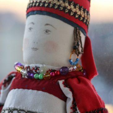 Обережная кукла Калужской Губернии