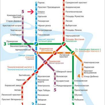 Логистика 3-х дневного семинара в Санкт-Петербурге 14-16 июня