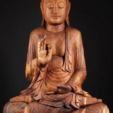 Будда и его статуя