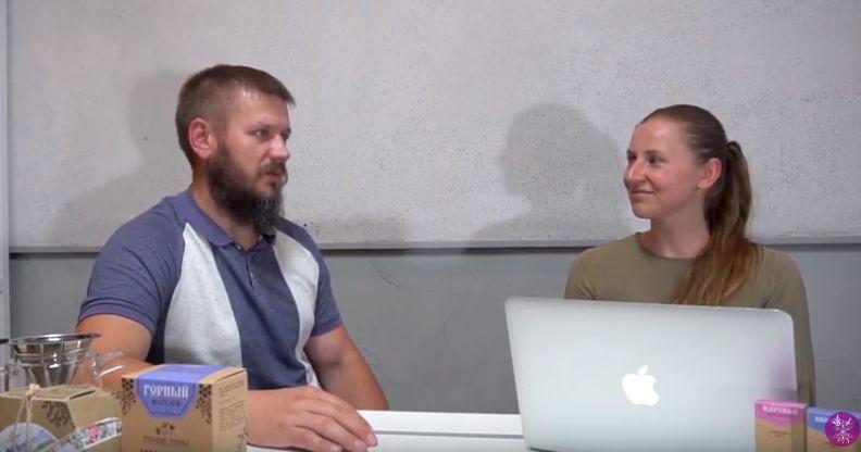 Интервью с производителем экопродукции Русские Травы