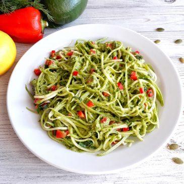 Итальянская raw-паста | Italian raw-pasta