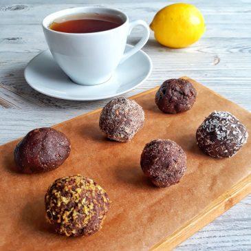 Кокосово — миндальные трюфели | Cocoa-almond truffles