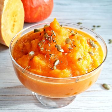 Тыквенно – грушевый десерт | Pumpkin-pear dessert