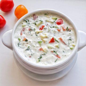 RAW-суп Карри | Curry RAW-soup