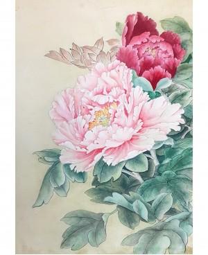 Цветы в китайской живописи — пион