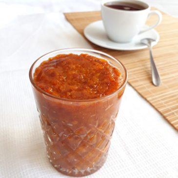 Сыроедный абрикосовый джем | Raw apricot jam