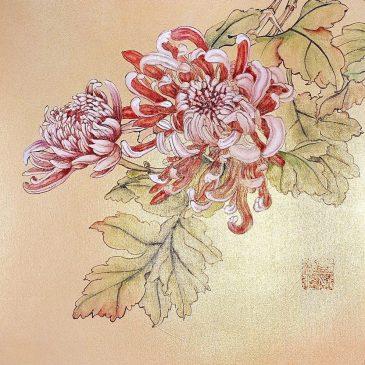 Хризантемы в китайской живописи