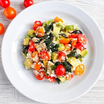 Raw-салат Морской с вакаме | Sea Wakame Raw-Salad