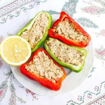 Сыроедный фаршированный перец | Raw stuffed peppers