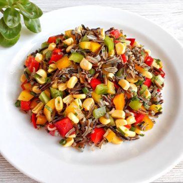Raw-рагу с диким рисом | Raw-stew with wild rice