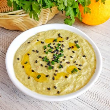 Сыроедческий зелёный суп из гречки | Raw green buckwheat soup