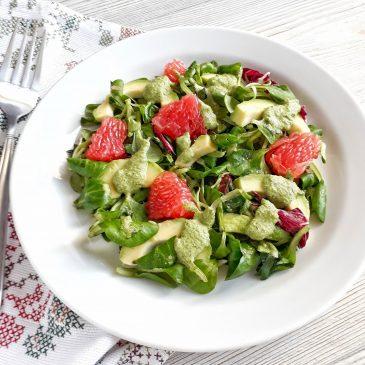 Салат из Авокадо и Грейпфрута | Avocado and Grapefruit Salad