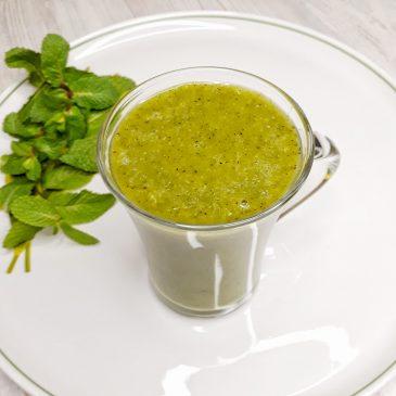 Бодрящий смузи из киви   Invigorating kiwi smoothie