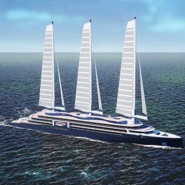 Эко-лайнеры под парусами