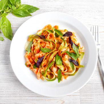 Raw-паста с соусом Маринара | Raw-pasta with Marinara Sauce