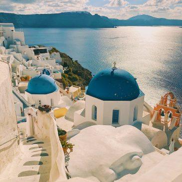 Романтический остров — Санторини