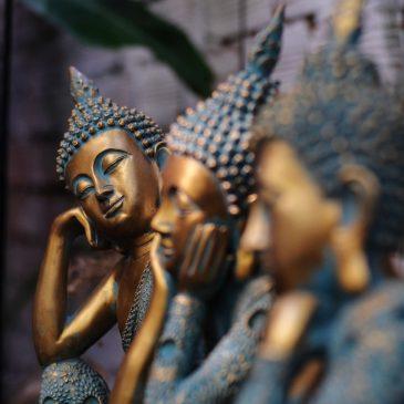 Буддийская притча: Положение тела