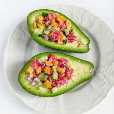 Фаршированные авокадо | Stuffed avocado